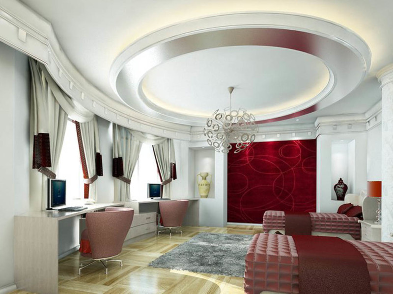 These Well-Suggested Modern House Ceiling Design - House Decoration ...