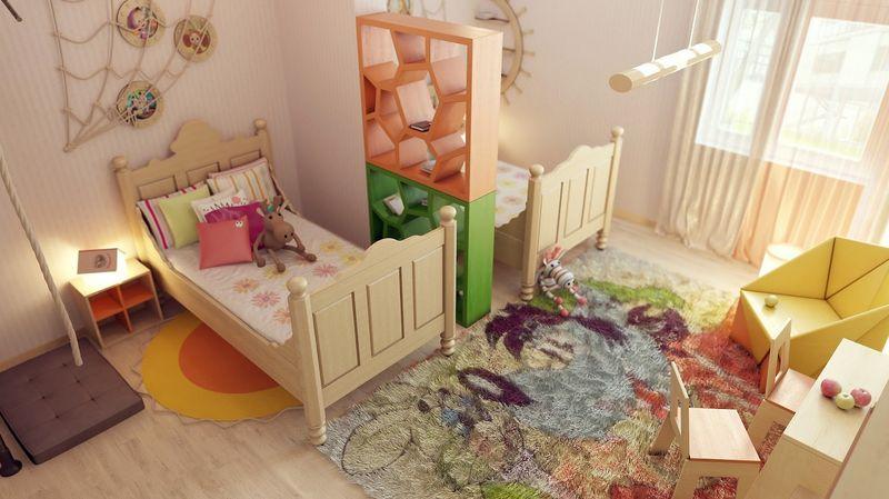 Cozy room divider