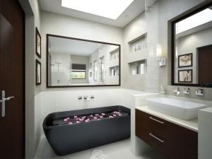 Cute design for bathroom