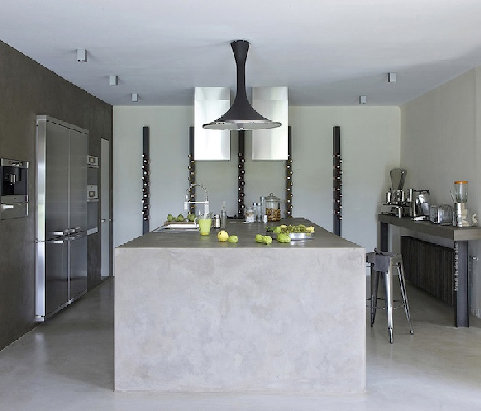 Kitchen Lighting In Industrial Style