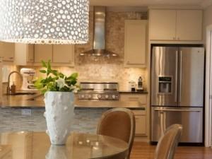 Interesting kitchen lighting