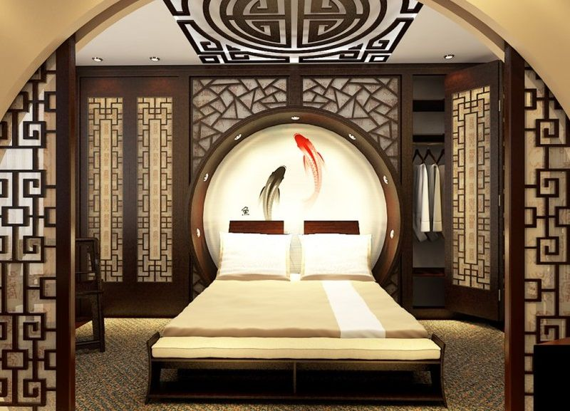 Japanese themed ideas to create a simple bedroom - House