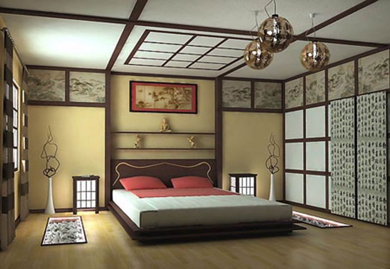 Japanese style bedroom