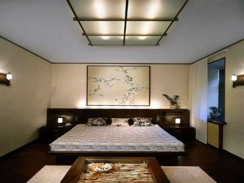 Japanese Themed Bedroom. Deciding Wall Color Scheme