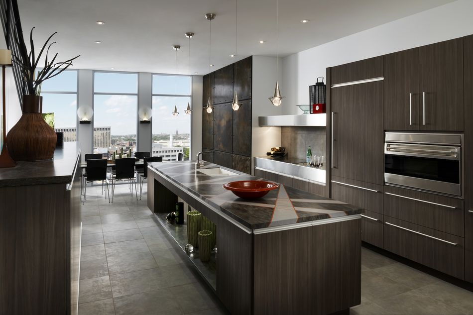 Kitchen lighting industrial style