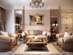 Living room classic furniture