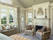 Living room molding