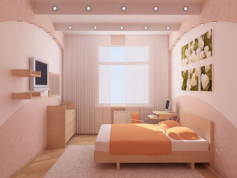 Middle class bedroom design