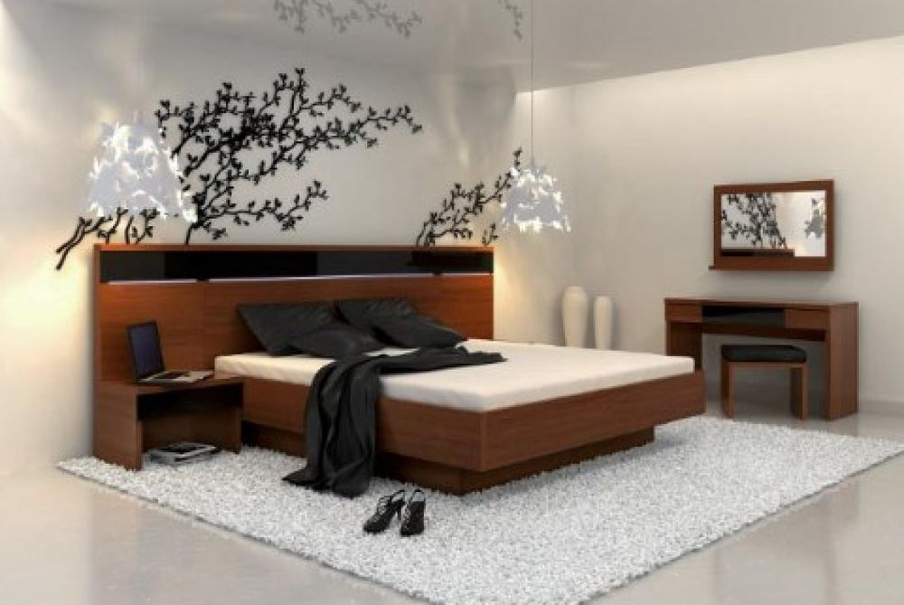 japanese themed ideas to create a simple bedroom house