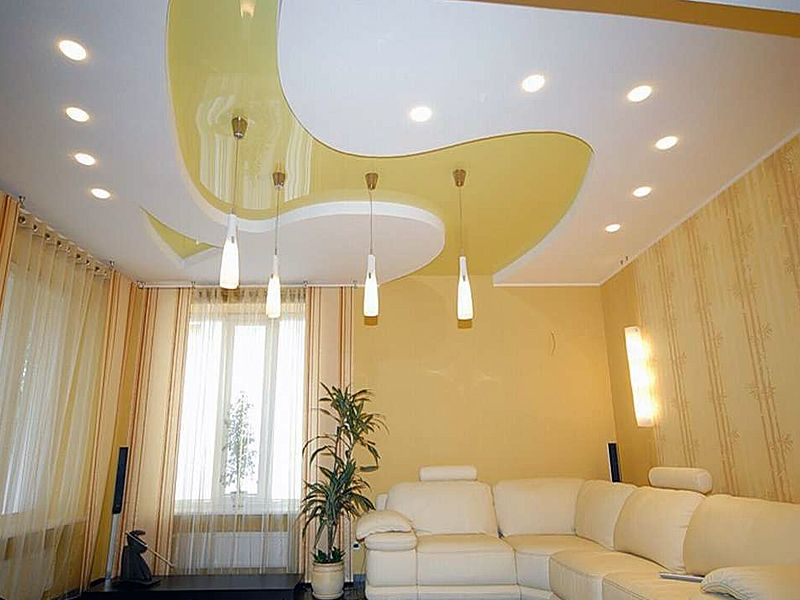 Modern style ceiling