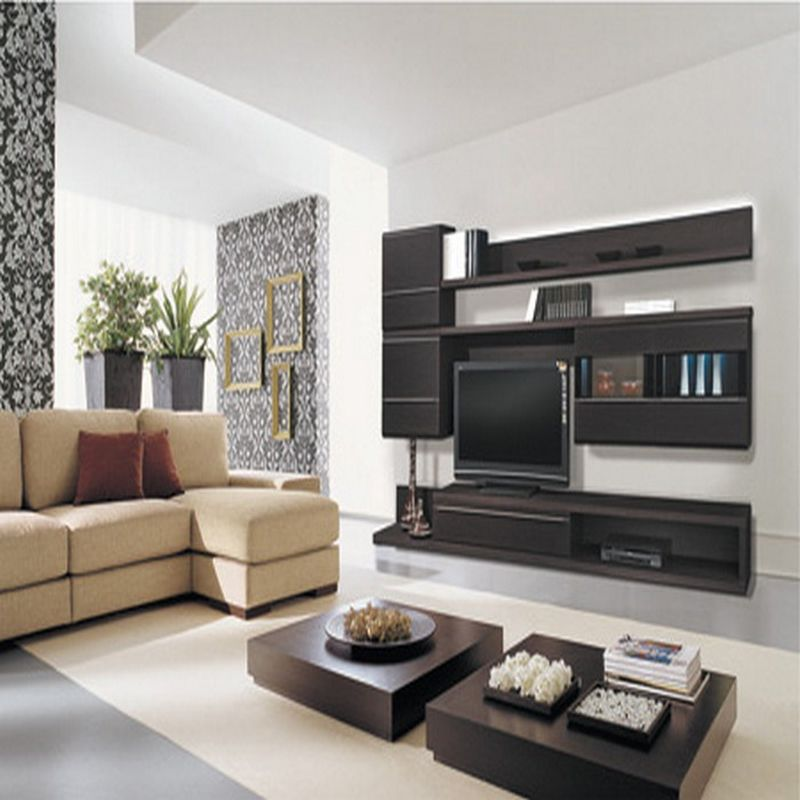 What interior to choose for living room modern or for Modern apartment living room