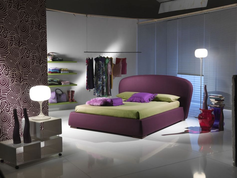 Modern young lady room