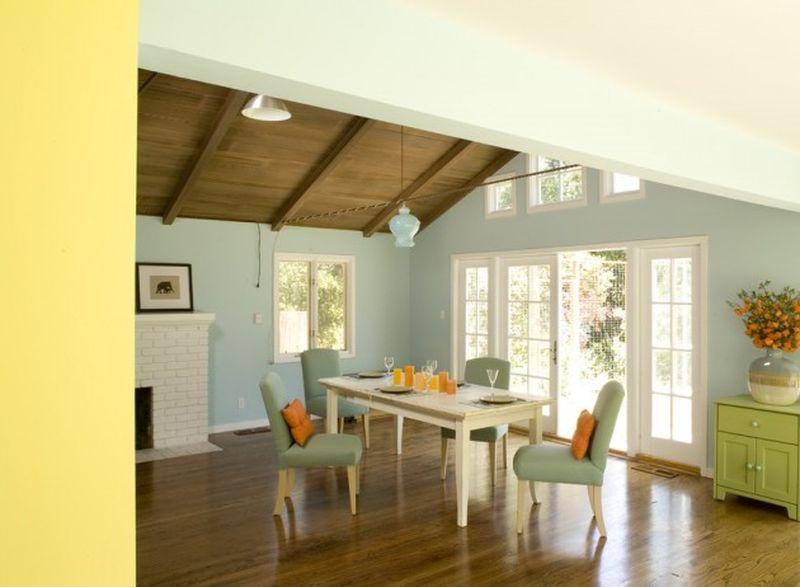 Pastel colors furniture
