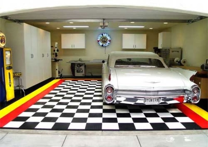 Simple and applicable garage color ideas house for Decoration garage maison