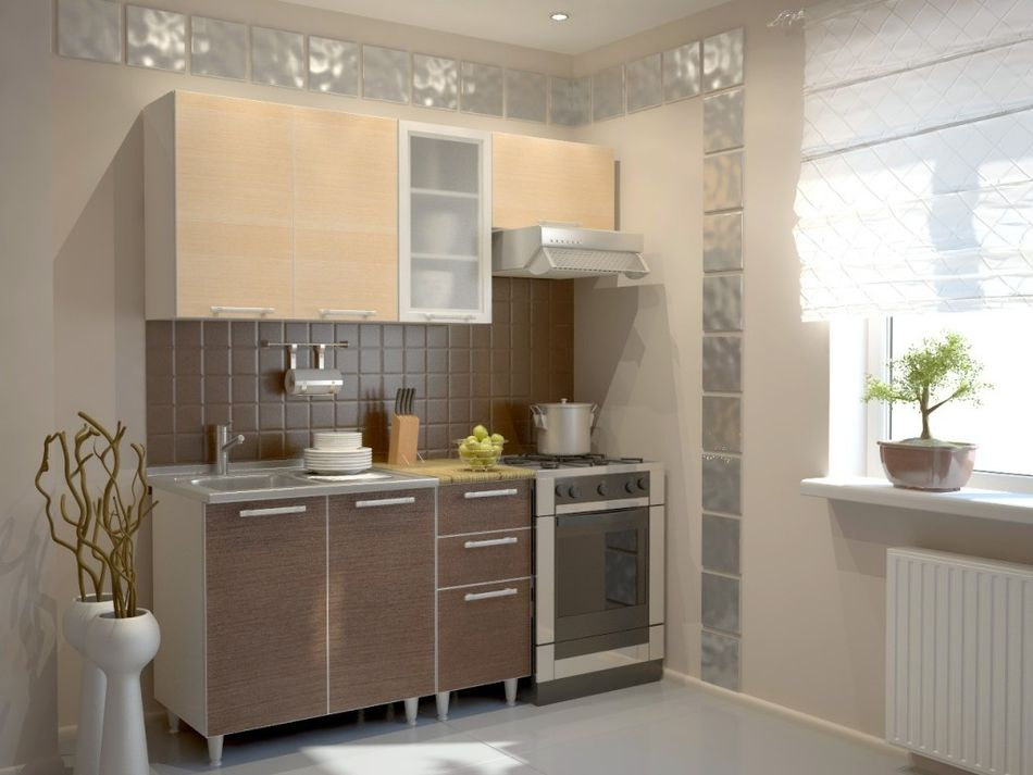 Useful tips for small kitchen interiors house decoration ideas - Kitchen design in small space decoration ...