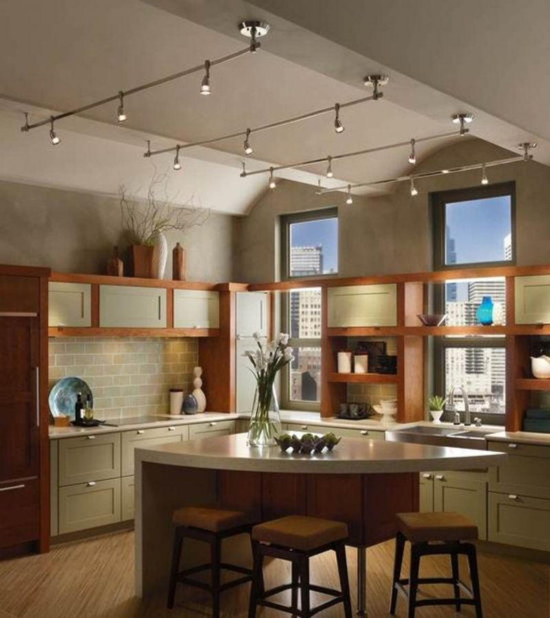 Track lighting for kitchen