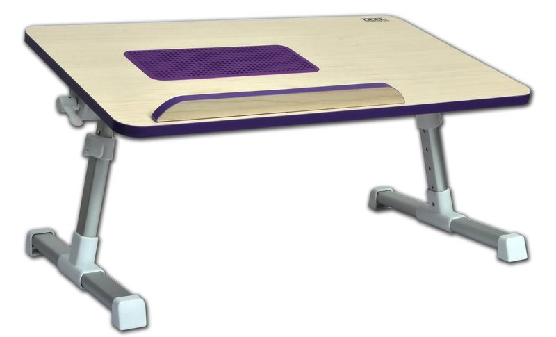 Violet portable computer table