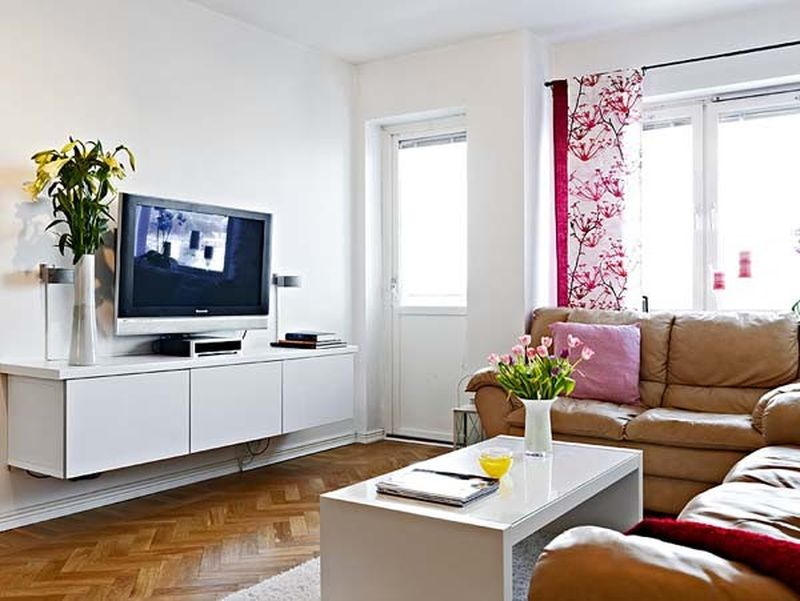 White apartment furniture