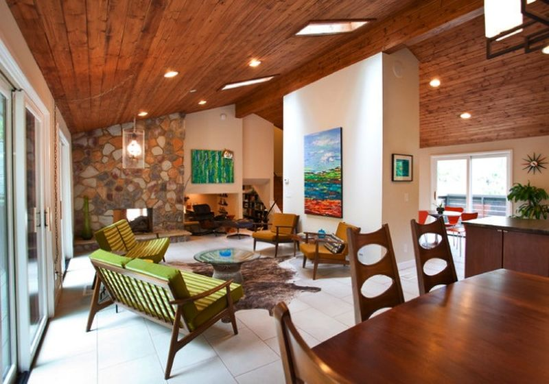 Wooden ceiling ideas