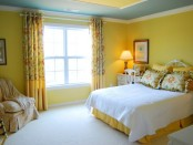 Yellow young lady bedroom