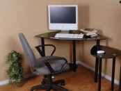 Computer desk design
