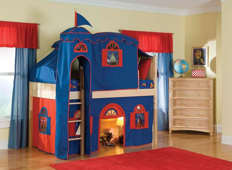 Boys Castle Bed