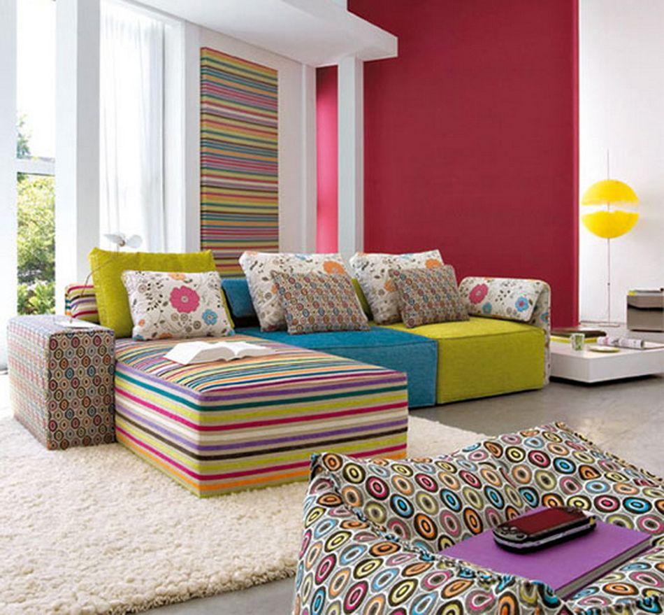 Colored Sofa Design Ideas