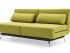 Green pull out sofa