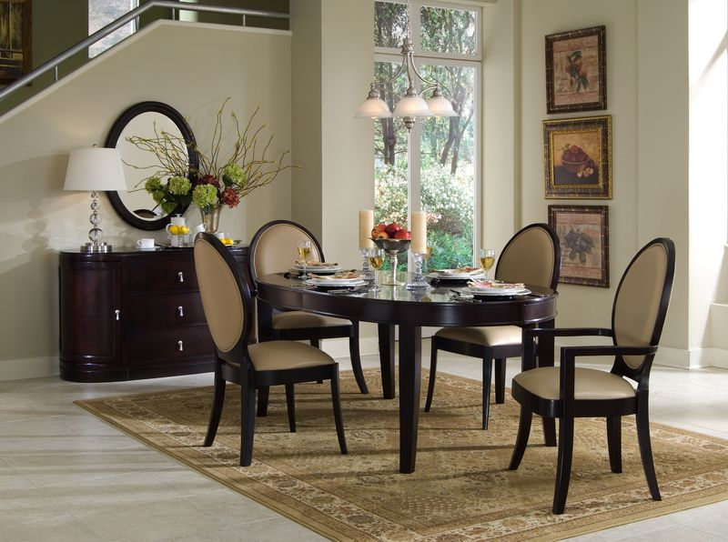 Oval Chairs Ideas for Dining Room