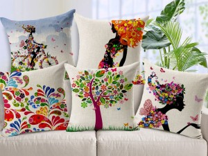 Pretty sofa pillows