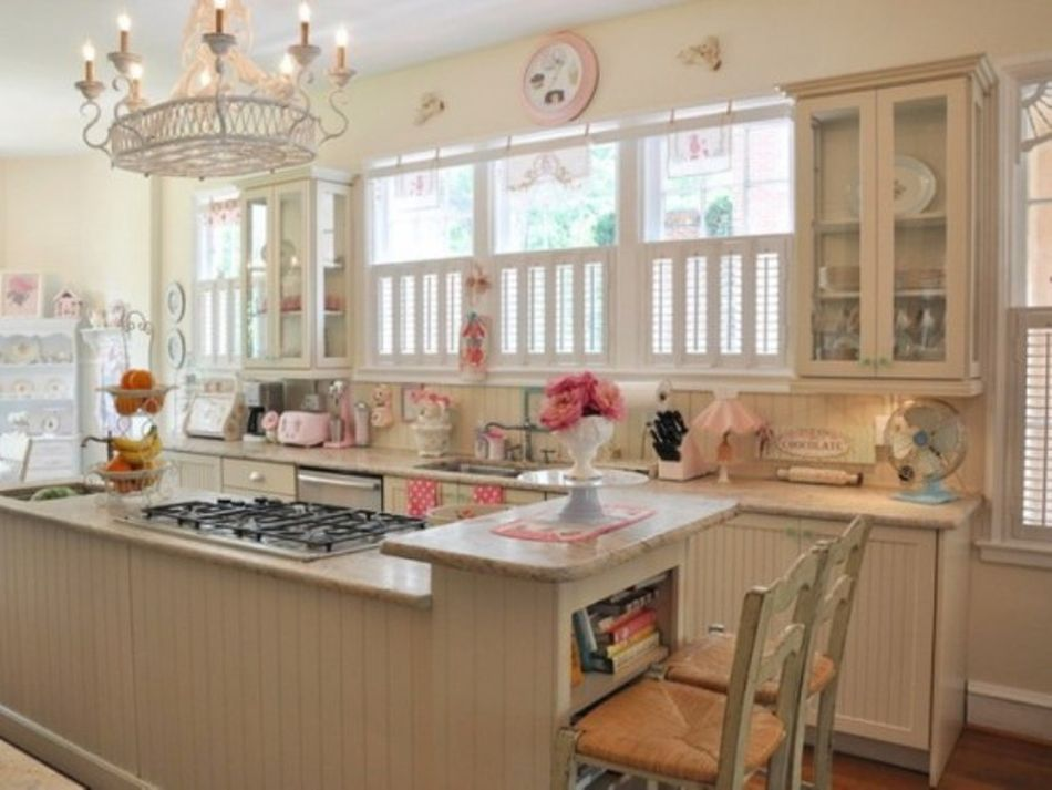 Little beach house kitchen design ideas house decoration for Beach cottage kitchen design ideas