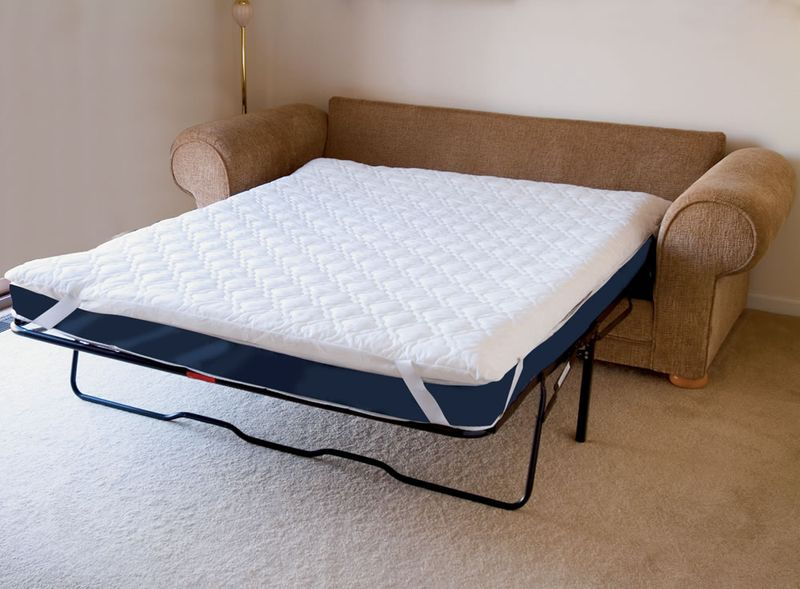 How to make a pull out sofa bed more comfortable for Mattress for pull out sofa bed