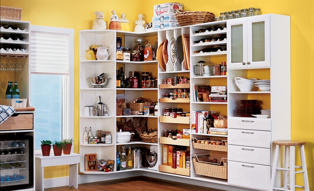 Interesting Decisions! Kitchen Cabinets without Doors