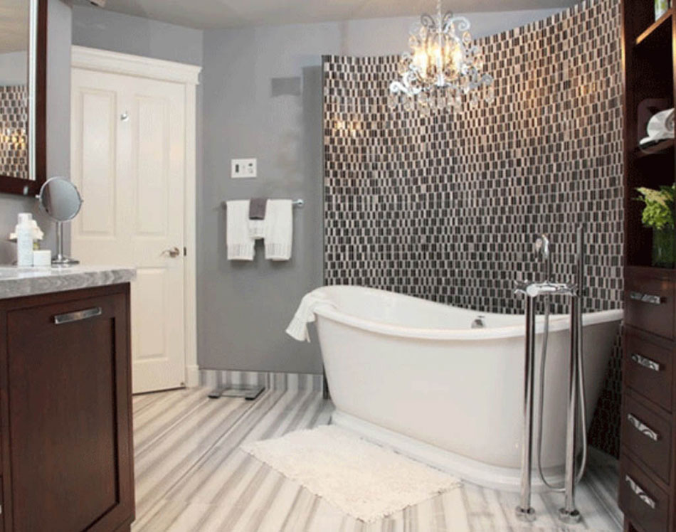 Lavishly design for bathroom