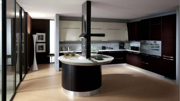 Modern small kitchen table
