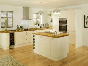 Modern wooden kitchen cabinets