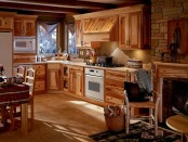 Older people kitchen cabinets