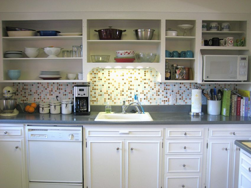 Interesting decisions kitchen cabinets without doors for Kitchen cabinets no doors