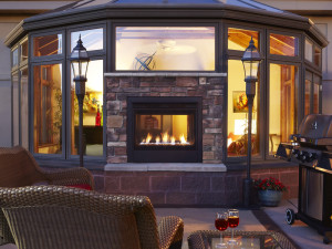 Fireplace patio design ideas