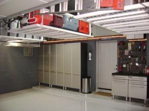 Garage ceilling sotrage
