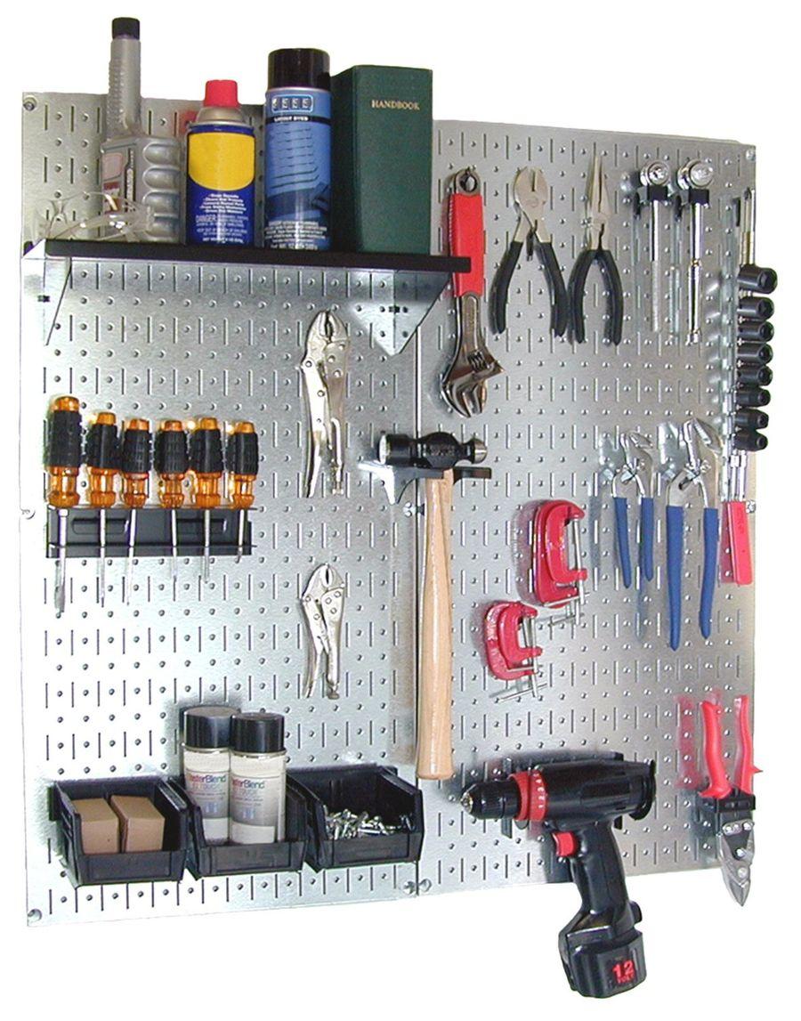 Garage organizer ideas. simple metal garage cabinets. furniture ...