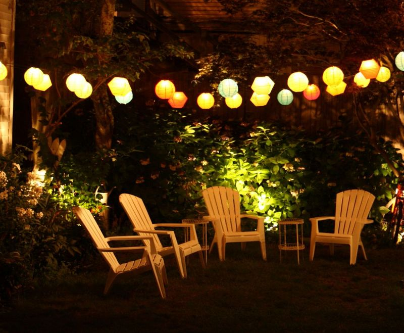 Garden lighting design