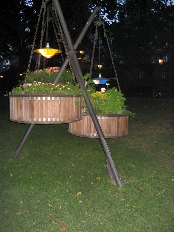 Garden lighting idea