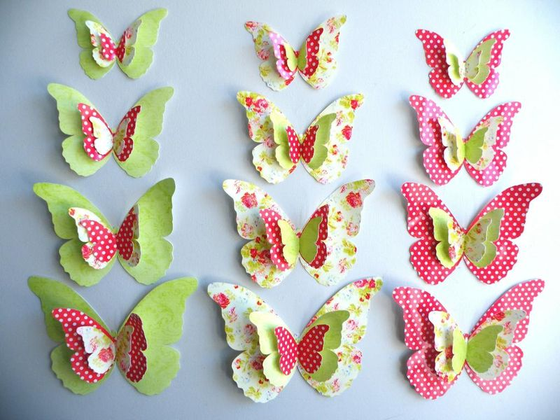 Home Decorating Ideas with Butterflies