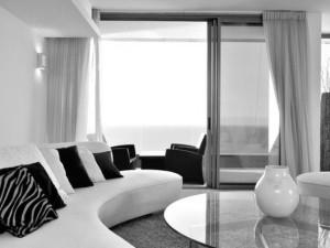 Interior desing with lavishly furniture
