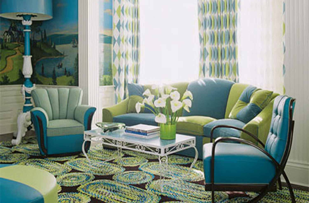 Living Room Design Curtains And Rug Sets