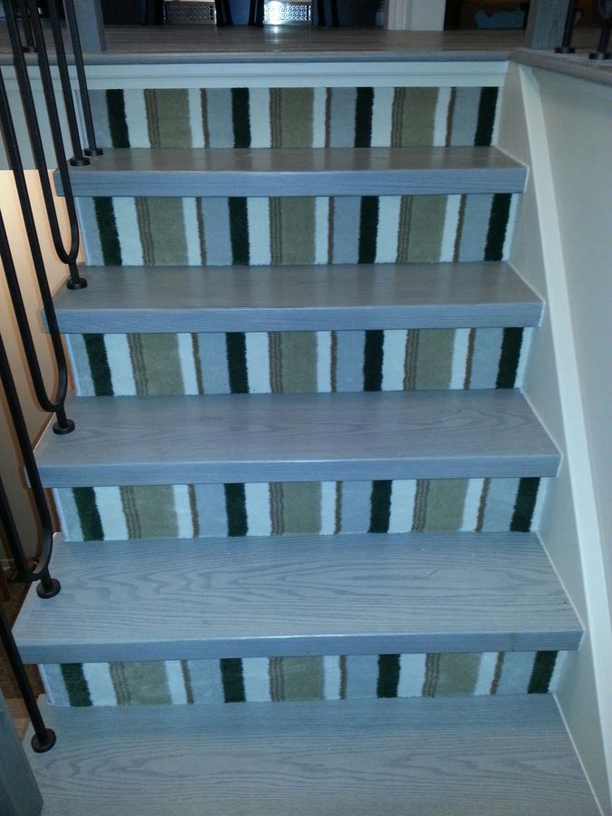 Non carpet stairs