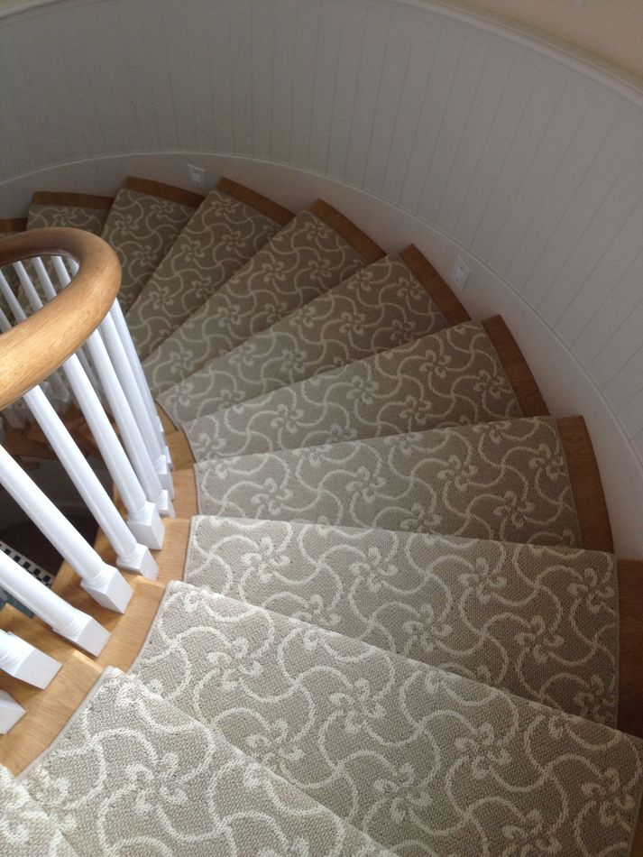 Tangier carpet stairs