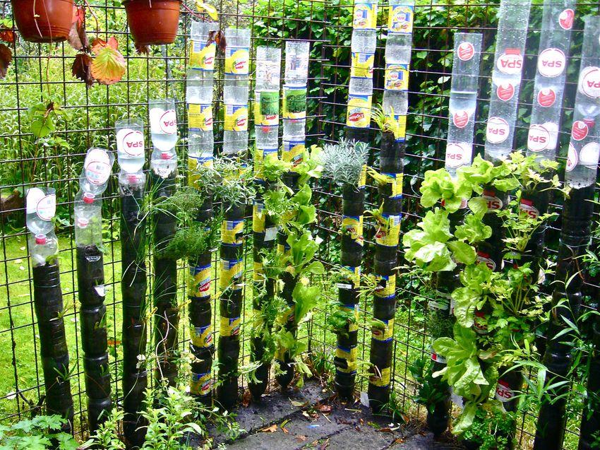 Watering system garden