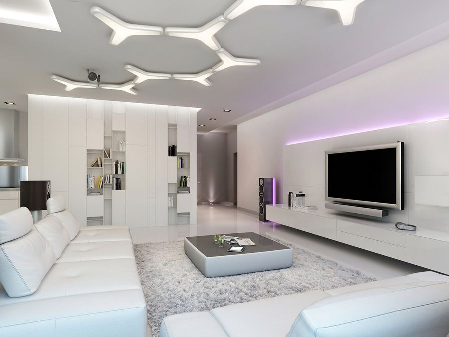 Apartment decorating lighting